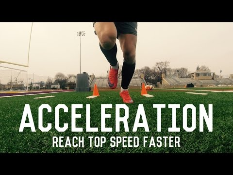 Acceleration Training For Footballers/Soccer Players | Reach Top Speed Faster | Individual Drills