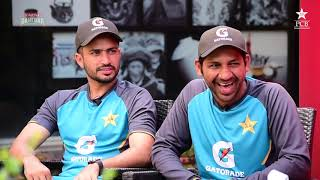 Tum Mein Aik Cup Chai Aur Cricket | Wasim Akram, Sarfaraz Ahmed & Muhammad Nawaz | PAKvSL 2019
