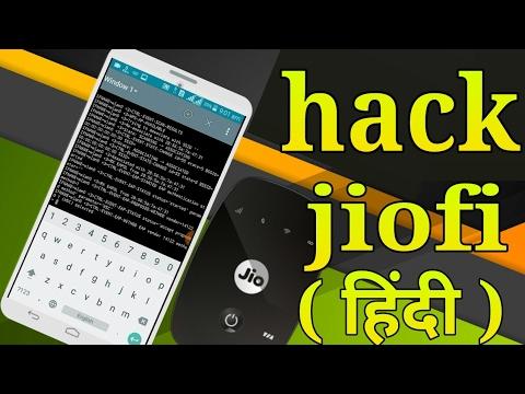Hack jioFi password root ( Hindi )