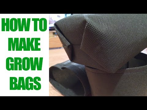 How To Make An Easy Grow Bag in 5 Minutes