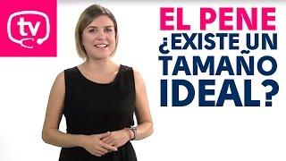 ¿Cuál es el tamaño ideal para el pene? ¿Cuál es el tamaño medio en España? Habla sobre ello en este vídeo la sexóloga Nayara Malnero.   ¡Todos los viernes nuevo vídeo en nuestro canal de sexología!  Suscríbete: http://goo.gl/QqkKVq  Síguenos:  https://plus.google.com/+Medicinatv https://www.facebook.com/MedicinaTV https://twitter.com/Medicina_TV  Más salud: https://www.medicinatv.com