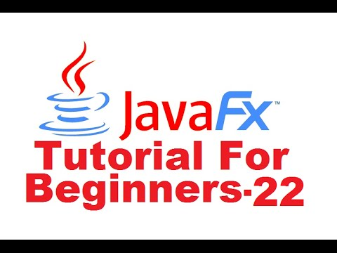 JavaFx Tutorial For Beginners 22 - JavaFx RadioButton