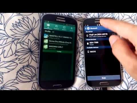 Galaxy S3 & S4: How to Transfer Music Wirelessly Between Phones