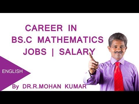 Career in BS.C Mathematics - Jobs , Salary , Oppurtunities