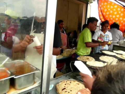 Mauritius Street Food | Dal Puri @ Port Louis