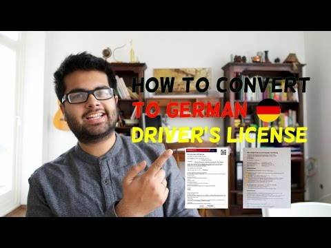 German Driver's License Conversion: Step 1