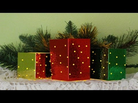 Holiday Flameless Candle Covers