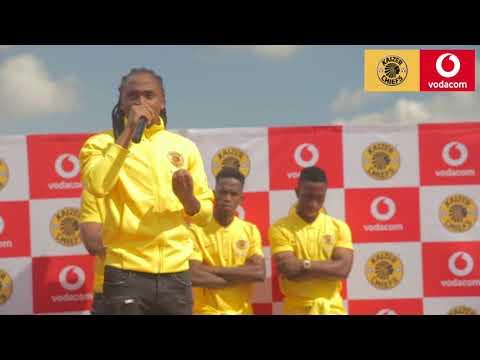 The Vodacom #ShabbaChallenge and school handover with Siphiwe Tshabalala