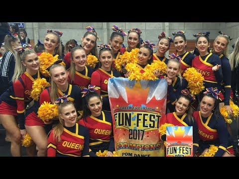 University Pom Team (Sloane's) Queen's Golden Gaels