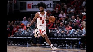 Coby White (29 PTS) Caught Fire From 3PT Against Hawks