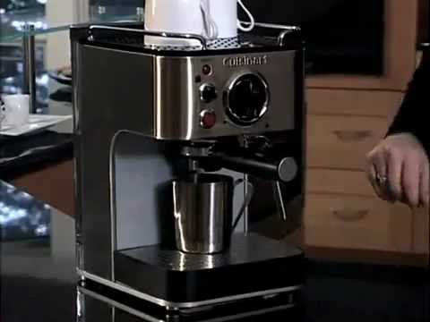 Cuisinart Espresso Maker Coffee Bar Collection (EM-100) How-To Video