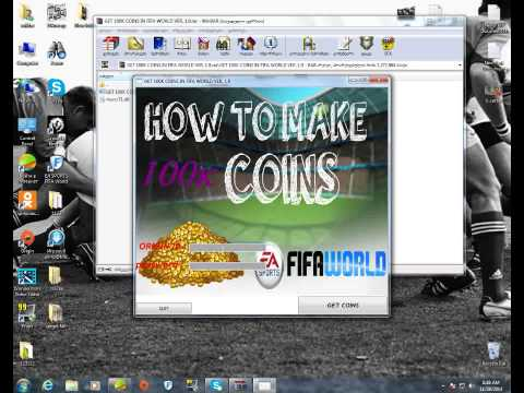 GET 100K COINS IN FIFA WORLD VER. 1.9