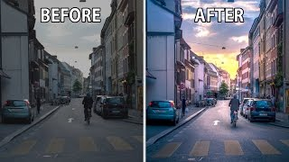 How To Turn Boring Photos AWESOME In Just 5 Minutes Using Lightroom - #001 STREET PHOTOGRAPHY!
