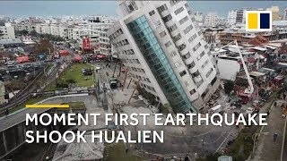 Taiwan earthquake 2018: panic and fear as first deadly quake hit Hualien