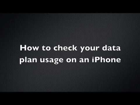 How to check your data plan usage on an iPhone