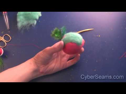 How To Make Felted Cat Toys