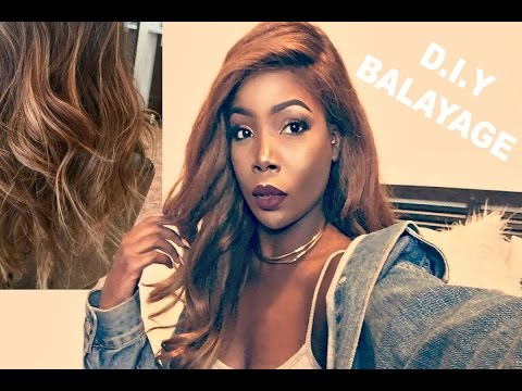 DIY How to dye Balayage ombre hair ft. Luvme Hair