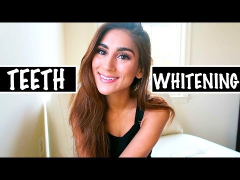 MY SECRETS TO HAVING SUPER WHITE TEETH  *AT HOME*