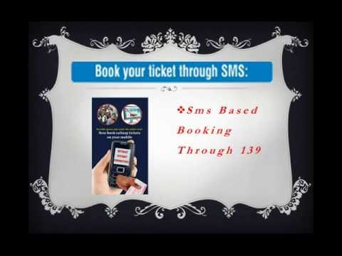 RAIL TICKET BOOKING BY SMS (THROUGH SMS)