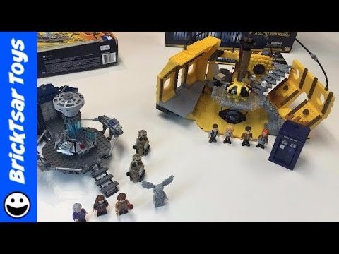 Doctor Who TARDIS sets Time Lapse Build LEGO vs COBI