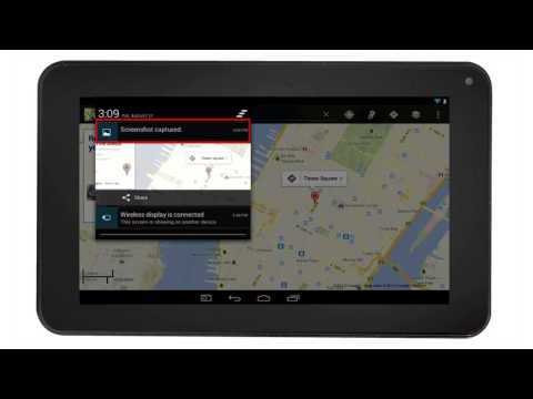 RCA Tablets | Screenshots & Increasing Website Font size Setting On The RCA Tablet  (Android 4.2)