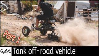 Making a track drive trike #1