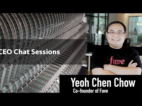 The CEO BizChat Series - Yeoh Chen Chow (Co-founder of Fave)
