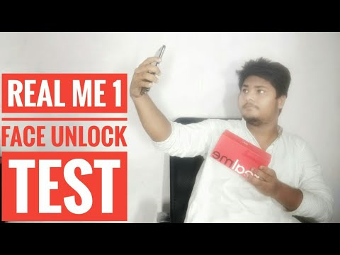Face unlock on Real me 1 धोखा सब झूठ