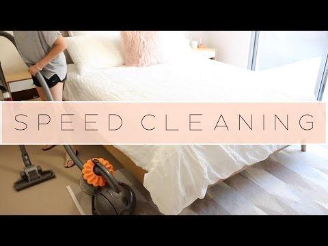 Speed Cleaning Routine