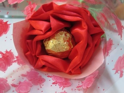 DIY : #61 Chocolate Flower (Valentine's Day) ♥