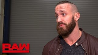 Mike Kanellis vows to fight for his family on Raw: Raw Exclusive, April 16, 2018