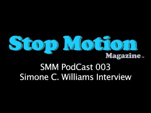 Stop Motion PodCast 003 - (Costume Designer) Simone C Williams