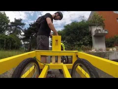 Making a bike trailer - part 2 of 2