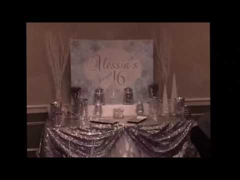 Treat Me Sweet Candy Table Set Up