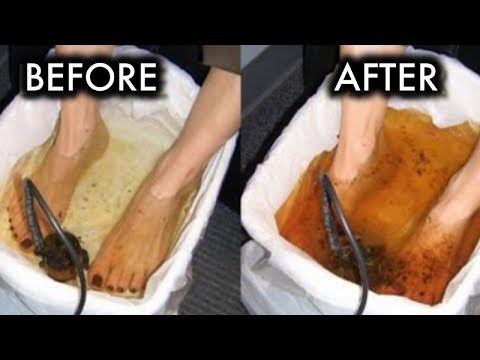 4 Natural Ways To Remove Tons Of Toxins From Your Body Through Your Feet