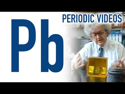 Lead - Periodic Table of Videos