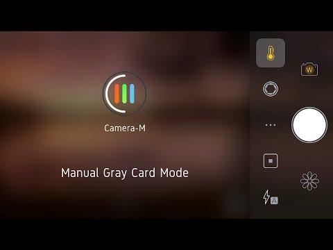 iOS Manual White Balance with Camera-M