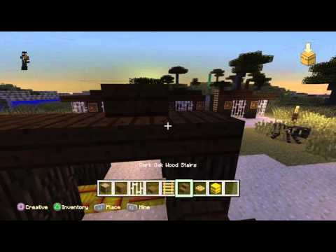 Minecraft How to build a rabbit pen