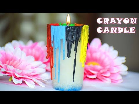 Best out of waste ideas | Old candles reuse ideas | Diwali Christmas decoration ideas
