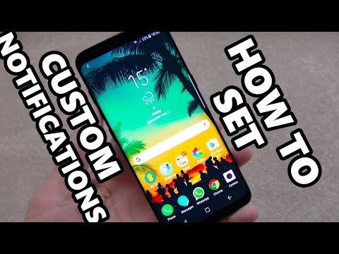 How to Setup Custom Notification Ringtones on Samsung Galaxy S9