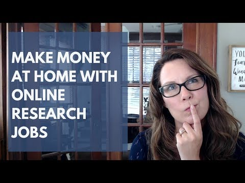 Online Research Jobs: Make Money With Your Smarts