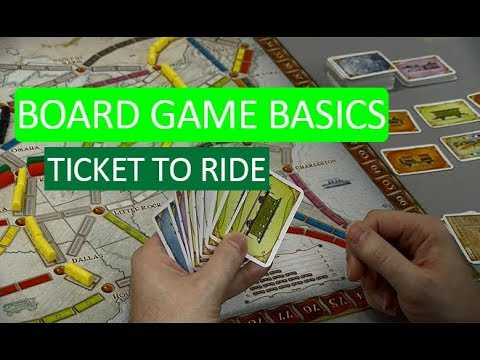 Board Game Basics: Ticket to Ride