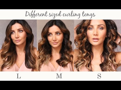 Which Size Curling Tong Should You Be Using?