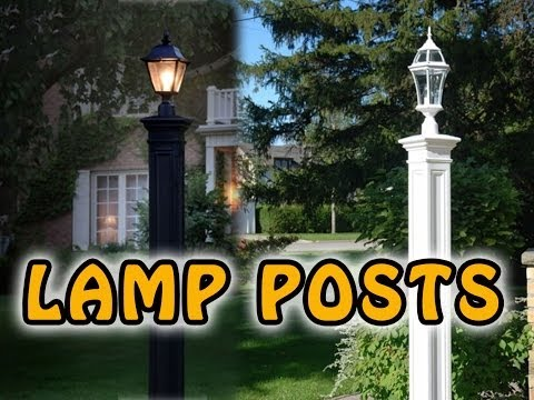 Fast & Easy Outdoor Lamp Post - Save Big On Lamppost Covers