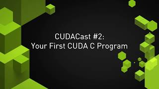 CUDA Tutorial 2: Basics and a First Kernel - PakVim net HD