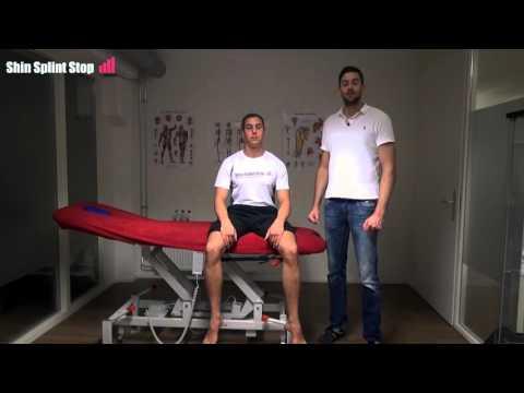 Shin Splint Stop - Rekoefening voorste scheenbeenspier en krachtoefening.