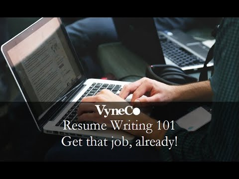 Resume Writing for Beginners and High School Students *New*