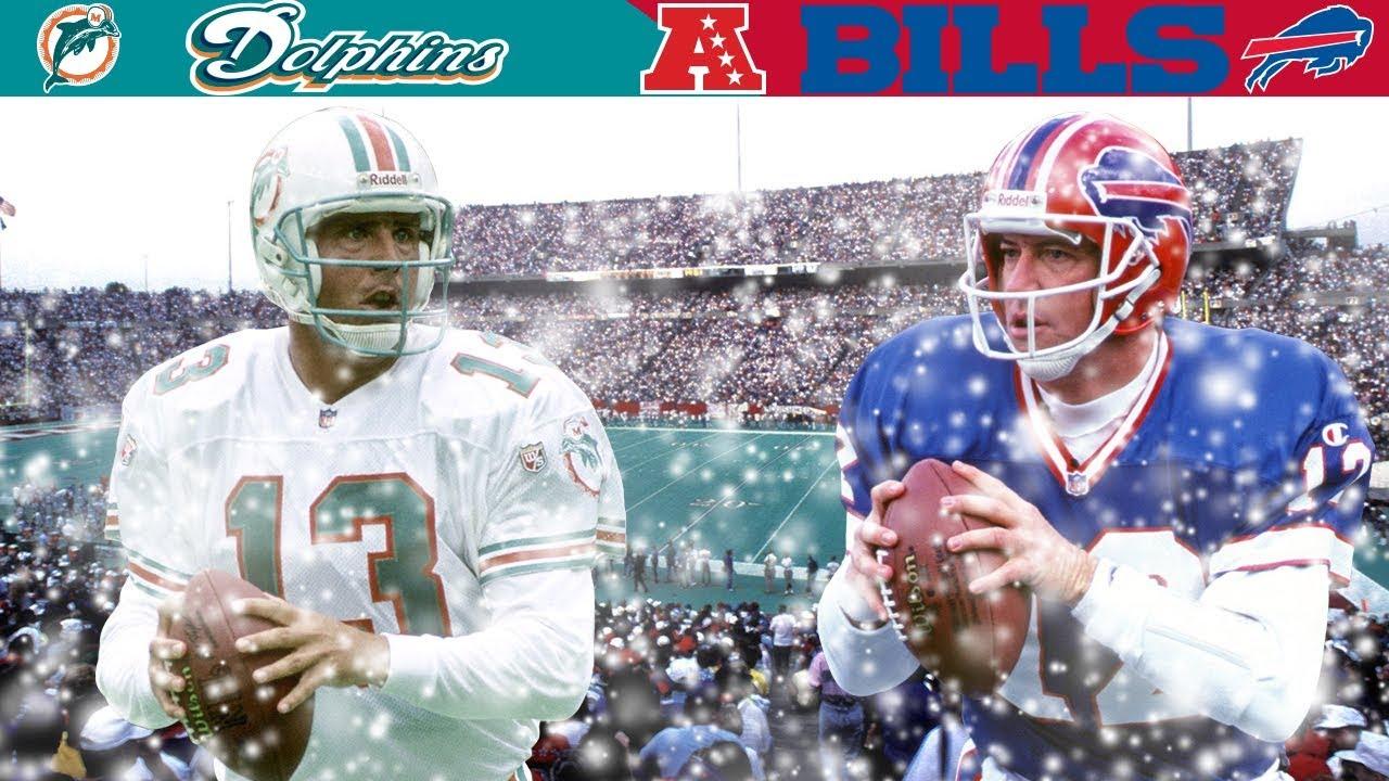 Marino & Kelly Winter Wonderland Duel! (Dolphins vs. Bills, 1990 AFC Divisional)