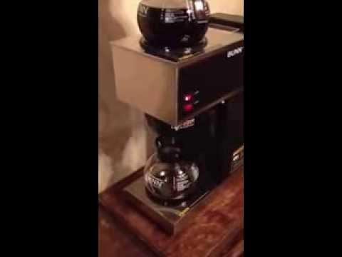 Bunn Coffee Maker Tutorial