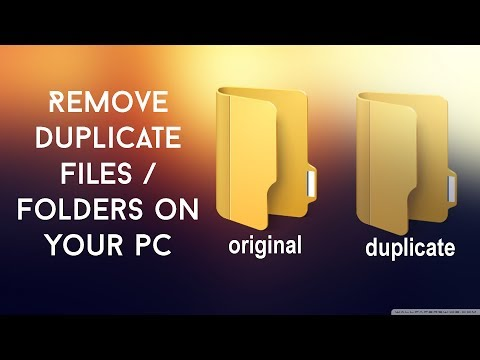 How to scan and remove all the duplicate files in your pc
